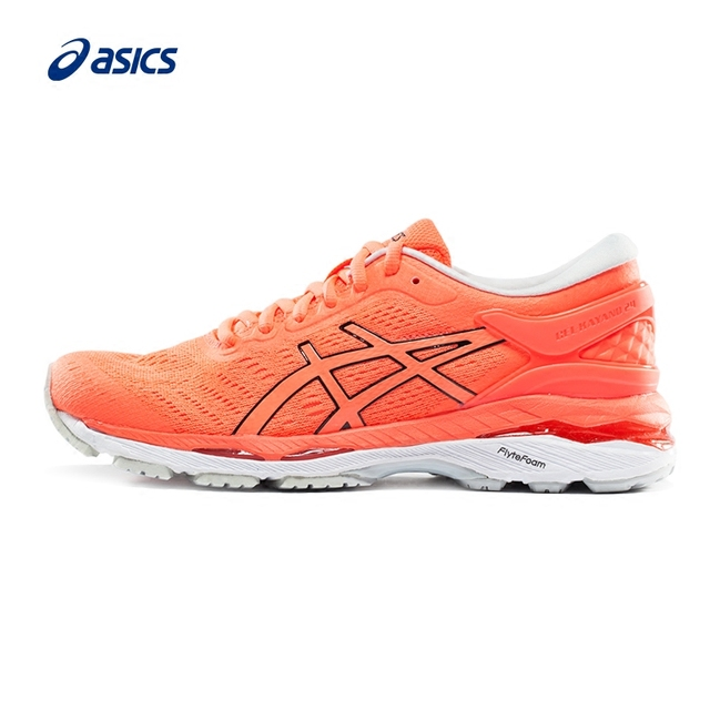 Original ASICS GEL KAYANO 24 Women s Stability Running Shoes Sports Shoes  Sneakers free shipping Comfortable Fast Breathable-in Running Shoes from  Sports ... 3262dbb1af06