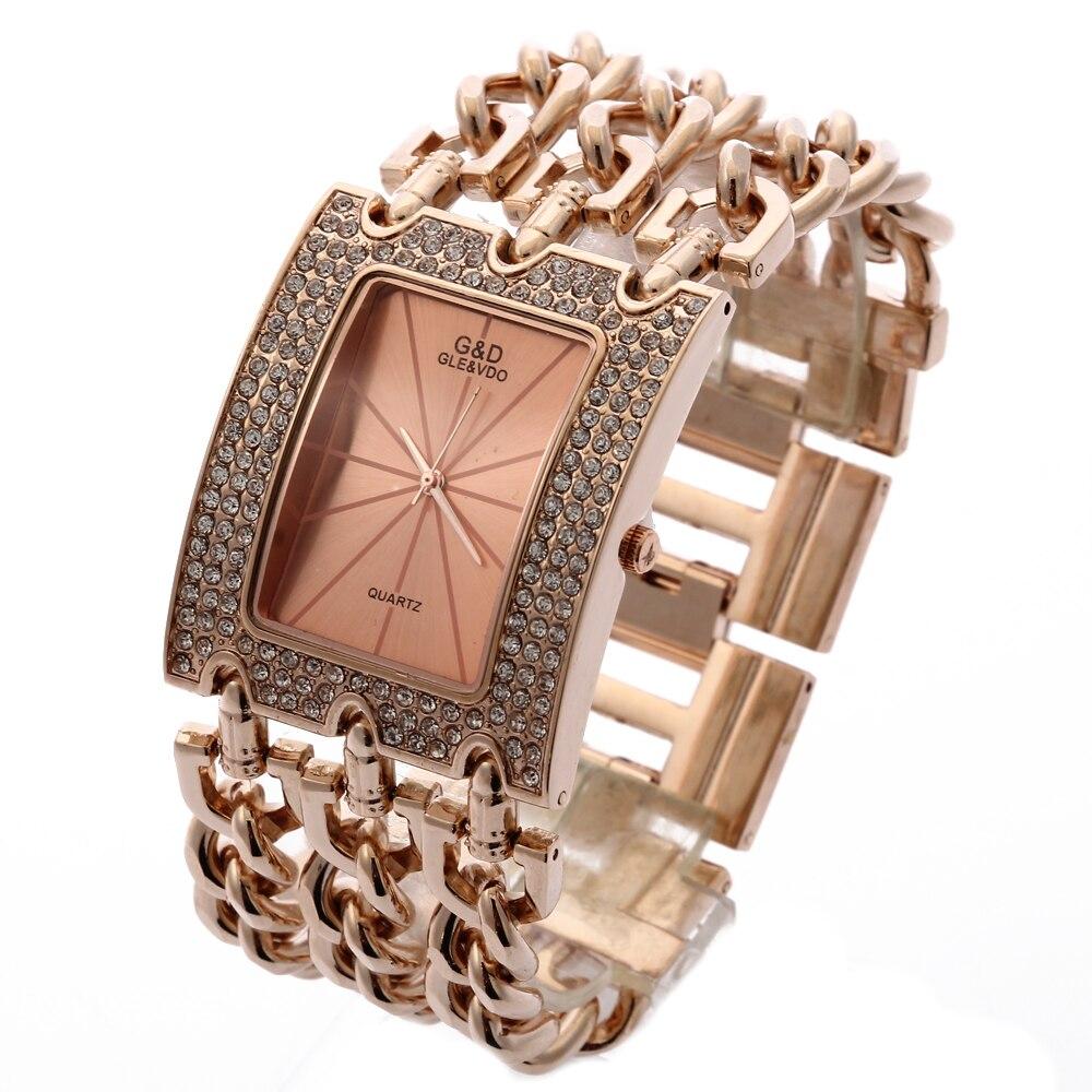G & D Ρολόγια χεριού Γυναικεία χαλαζία - Γυναικεία ρολόγια - Φωτογραφία 6
