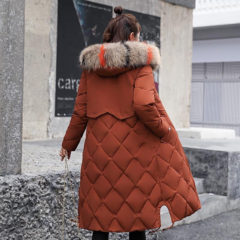 Beieuces Winterjas Vrouwen Nepbont Capuchon Parka Jassen Vrouwelijke - Dameskleding - Foto 3
