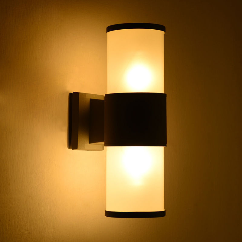 Aliexpress buy modern outdoor wall light waterproof ip54 for Exterior up down wall light
