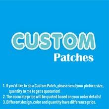 Заказные нашивки, промо-акция, железные вышитые нашивки, экологически чистые, ручной работы, 3D аппликации для одежды Parch Embroider
