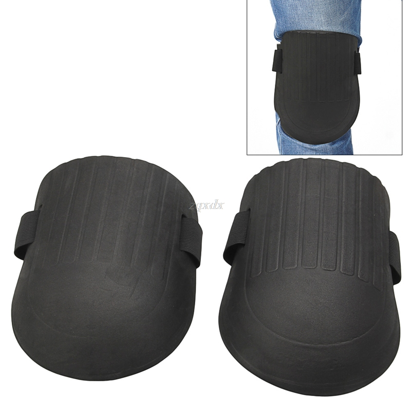 Builder Kneepads Sport-Work Gardening Protective 1-Pair Drop-Ship Soft-Foam Flexible title=