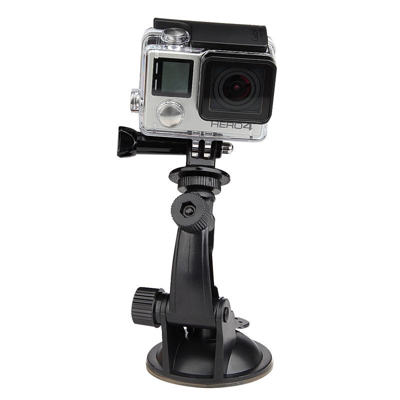 DVR Suction Cup Holder Mount Stand Tripod Monopod for Gopro Go Pro Xiao Mi Yi SJcam SJ4000 Action Sport Camera Cam Accessories