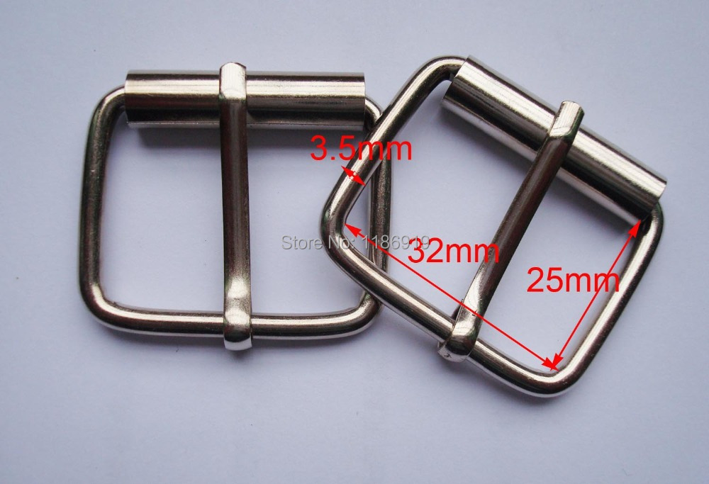 Wholesale 32mm Wide Silver Antique Rust Plating Ferrous Belt Buckle,bag Buckles,garment Accessories,bag Fasteners