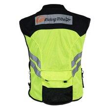 Moto Gilet Réfléchissant Rue Route Protecteur Motocross Corps Armure Protection Vestes Gilet Vêtements Équipement De Protection JK22
