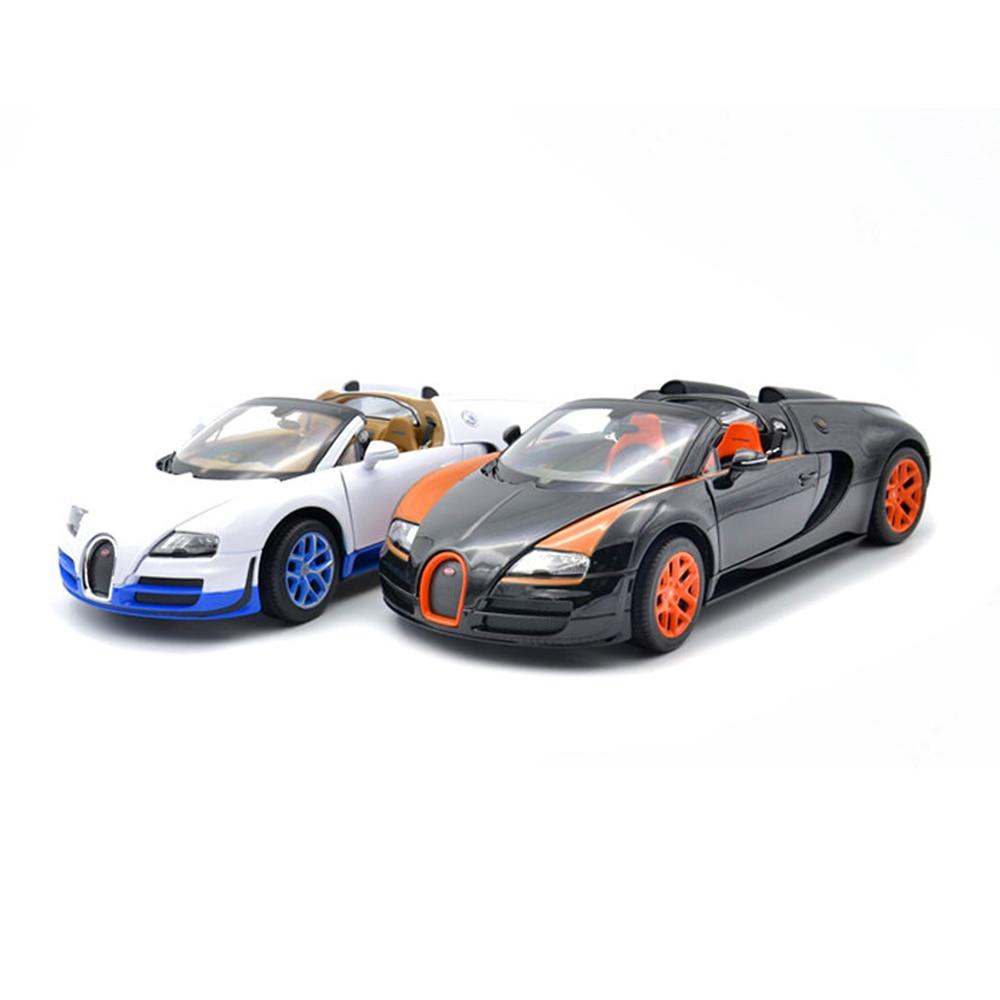 Bugatti сплава автомобиля масштаба 1:18 Veyron 43900 модель Ограниченная серия модель Цвет коробка посылка игрушки для детей Детский подарок