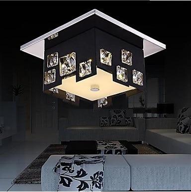 Modern K9 Crystal LED Ceiling Lamp,For Living Room bedroom,Bulb Included,Home Decoration Lustre De Cristal,AC 90V~260V modern k9 crystal led ceiling lamp for living room bedroom bulb included home decoration lustre de cristal ac 90v 260v