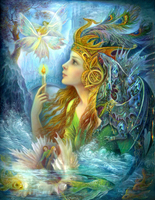 Free Shipping 2015 NEW DIY 3D Diamond Painting Mysterious Girl Hand Embroidery Cross Stitch Resin Craft
