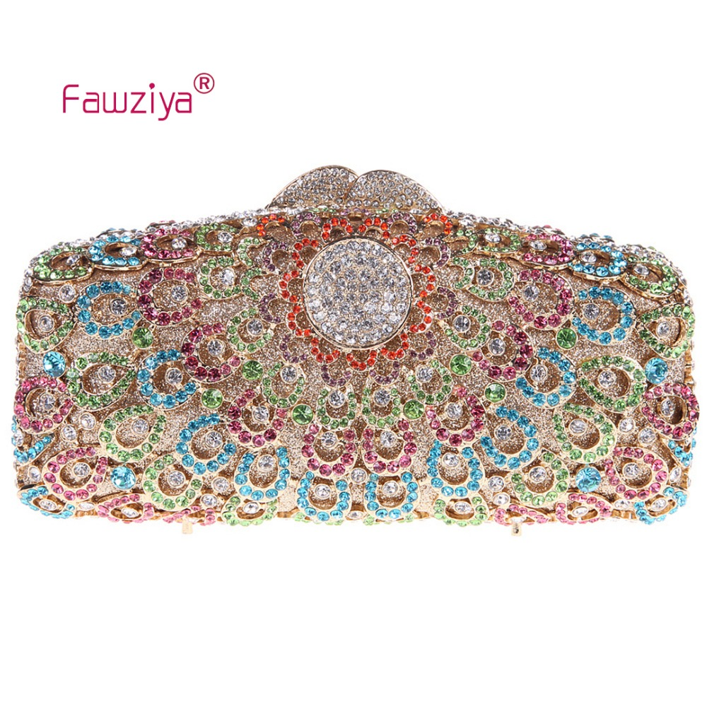 Fawziya Genuine Leather Bags For Women Peacock Clutch Evening Clutches For Women Handbag Brands x3 sunvisor bluetooth v4 0 edr car hands free speaker black