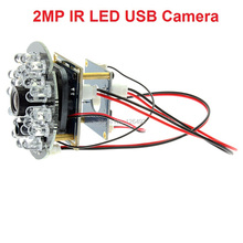 1080P CMOS OV2710 free driver infrared night vision ir usb camera module for android ,linux,windows