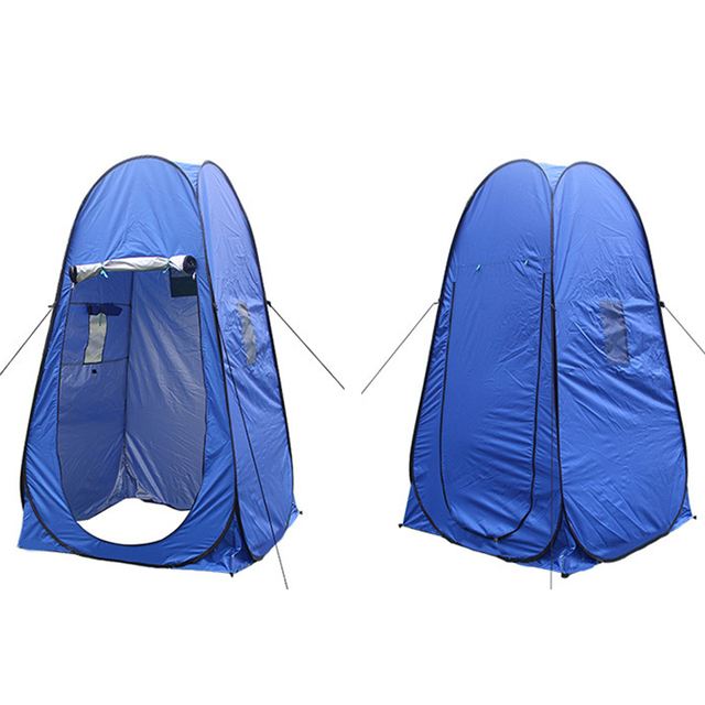Portable Shelter Toilet Shower Changing Beach C&ing Tent Room Portable Pop Up Private Tent Mobile Toilet  sc 1 st  AliExpress.com & Portable Shelter Toilet Shower Changing Beach Camping Tent Room ...