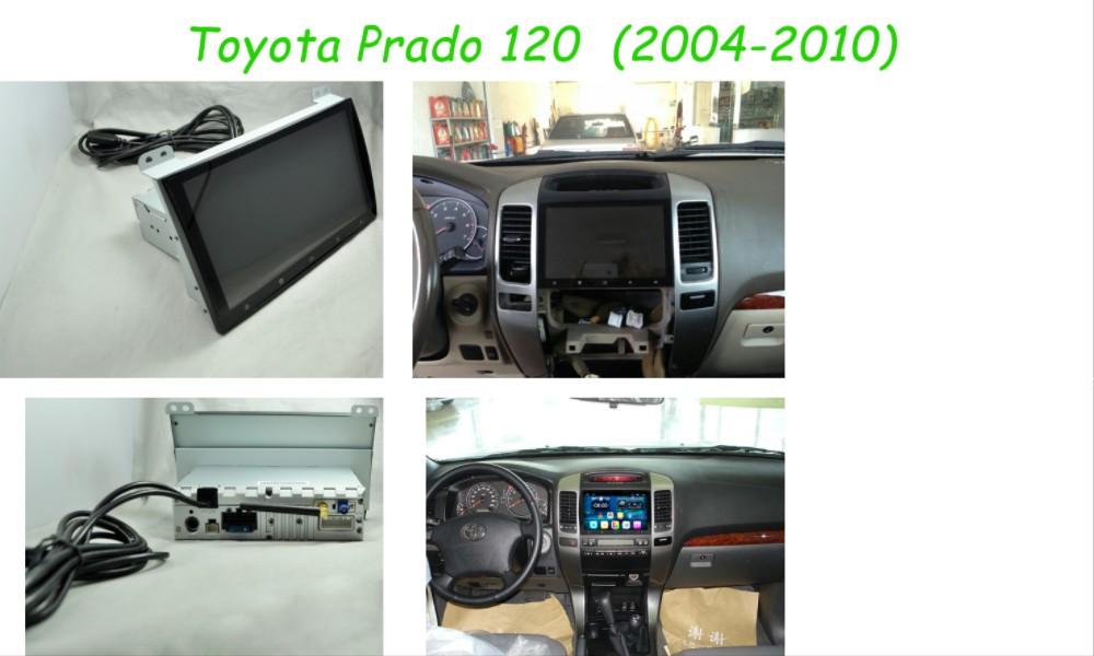 Toyota Prado 120 2004-2010 real picture