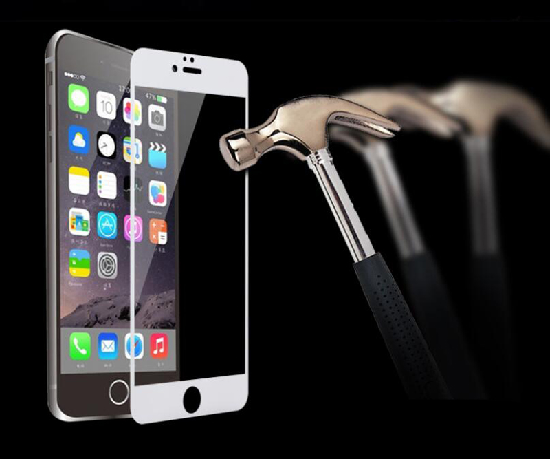 Full Cover Screen Protector Tempered Glass For iPhone 6 6S Plus 6Plus 7 8 Plus X 5S SE 5 S XR XS Max 2018 Protective Front Film