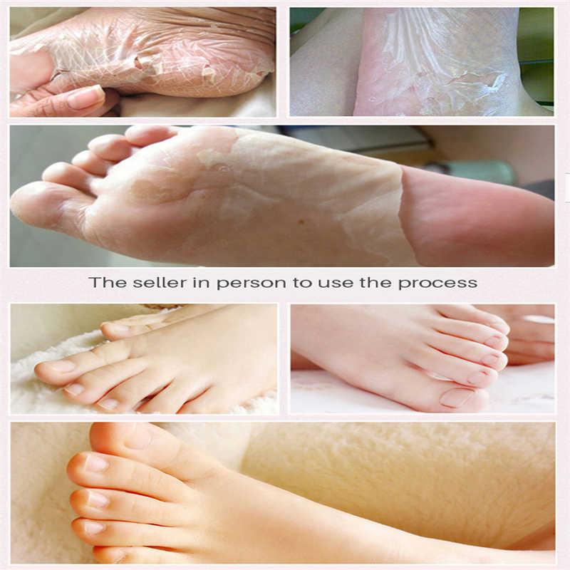 Baby Voeten Masker Hydraterende Pedicure Sokken Peeling Exfoliërende Sokken Spa Voet Dode Huid Verwijderen Voeten Care Cream Magic Skin TSLM2