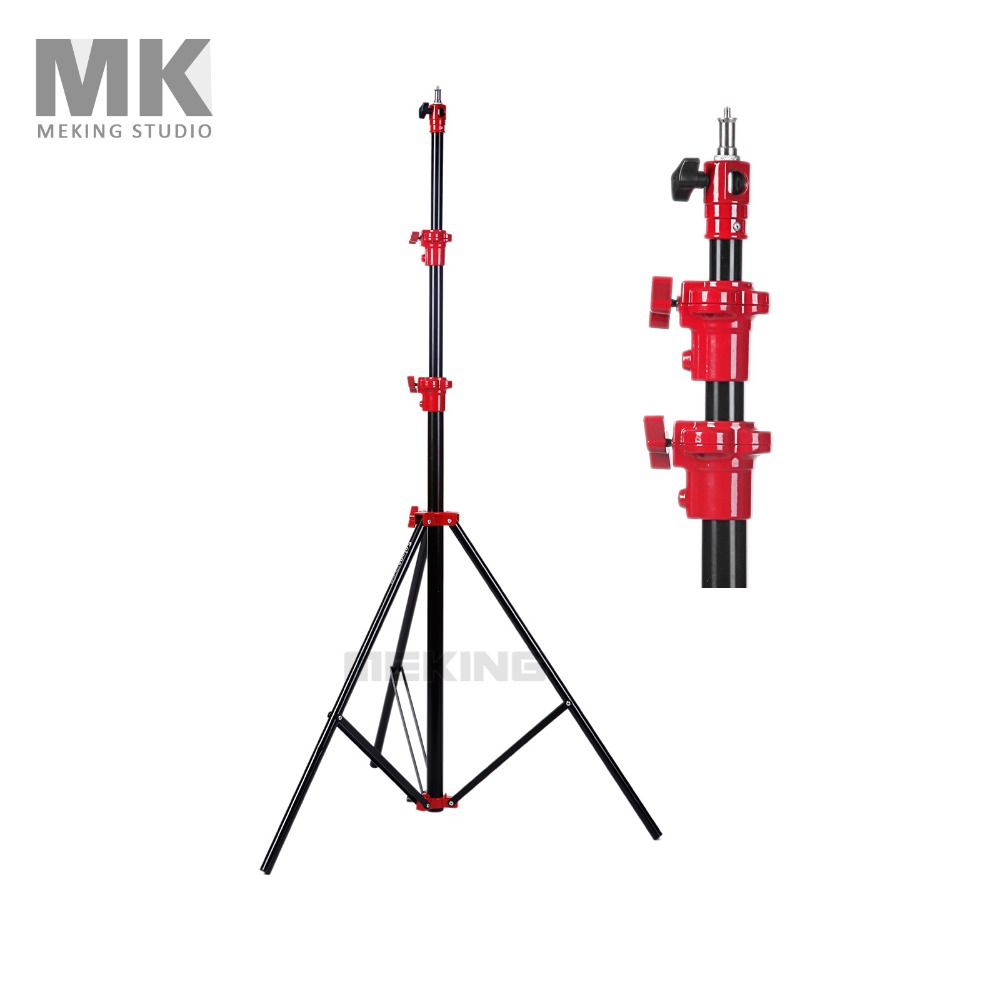 3m 9.8ft  Photo Studio Air-Cushion Heavy Duty Lighting Light Stand Tripod support system holder for Photo Studio Video Flash cp50 professional photographic equipment heavy duty dolly camera tripod pulley bearing wheel studio light photographic lighting