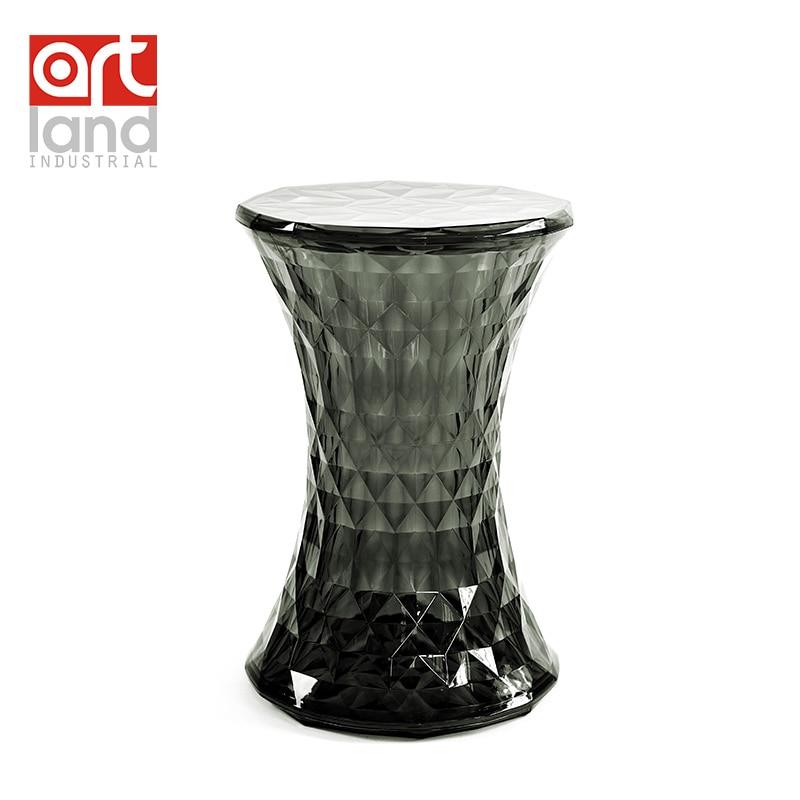 Molded plastic bar stool crystal clear plastic furniture minimalist modern fashion trend makeup stool  sc 1 st  AliExpress.com & Online Get Cheap Clear Bar Stool -Aliexpress.com | Alibaba Group islam-shia.org