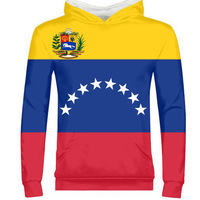 VENEZUELA man diy free custom name number photo ven zipper sweatshirt nation flag ve venezuelan spanish country college clothing