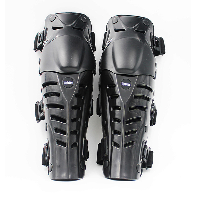 BLACK Adult Motorcycle Protective Gear Knee pads Hard Breathable Motocross Racing Adult Armor Knee Protection Pads Guards herobiker armor removable neck protection guards riding skating motorcycle racing protective gear full body armor protectors