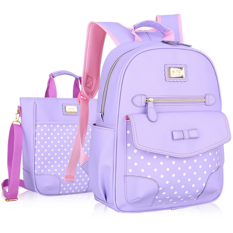 93773d6ccf74 New Fashion Children School Bags for Girls Backpack Kids BookBag Child  Printing Backpacks Girl Bow Suit satchel rucksack mochila-in School Bags  from Luggage ...