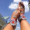 Dvacaman 2017 Popular Facebook Anklet Leg Chain Fashion Crystal Anklet Bracelet Women Barefoot Sandals Beach Foot Jewelry W74