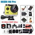 Chegada de novo! Original Eken H9 Pro 4 K/30fps Câmera de Ação de 30 m à prova d' água 2.0 'Tela 1080 p 120fps 170D Câmera Câmera esporte Radical