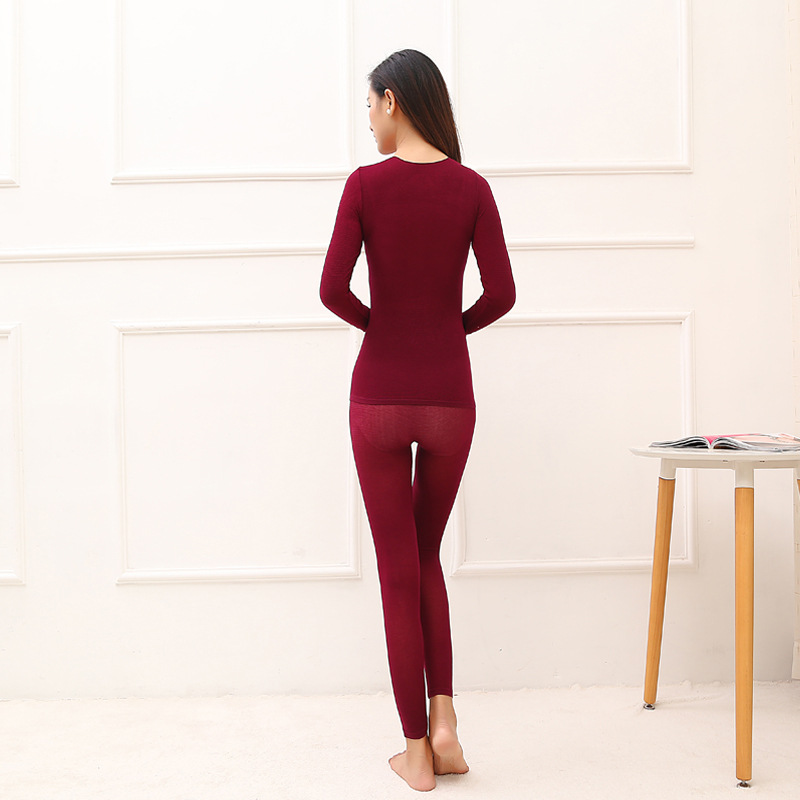 Thermal Underwear For Women Sexy Warm Long Johns For Women Seamless Winter Thermal Underwear Set Warm Thermos Clothing WomenMen 21
