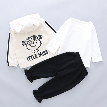 3Pcs Sets For Toddler Baby Girls Clothes Sets CLOTHING SETS CLOTHING SETS
