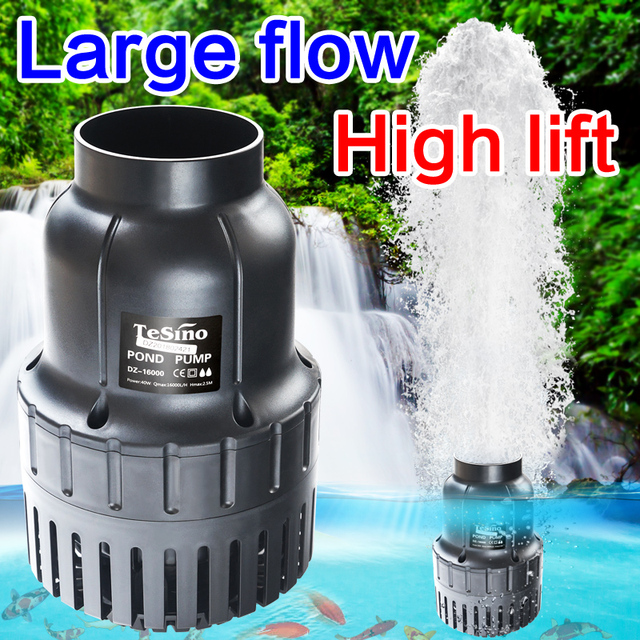 Dz Series Large Flow Fishpond Pump Saving Filter Circulating Wat For Outdoor Fish