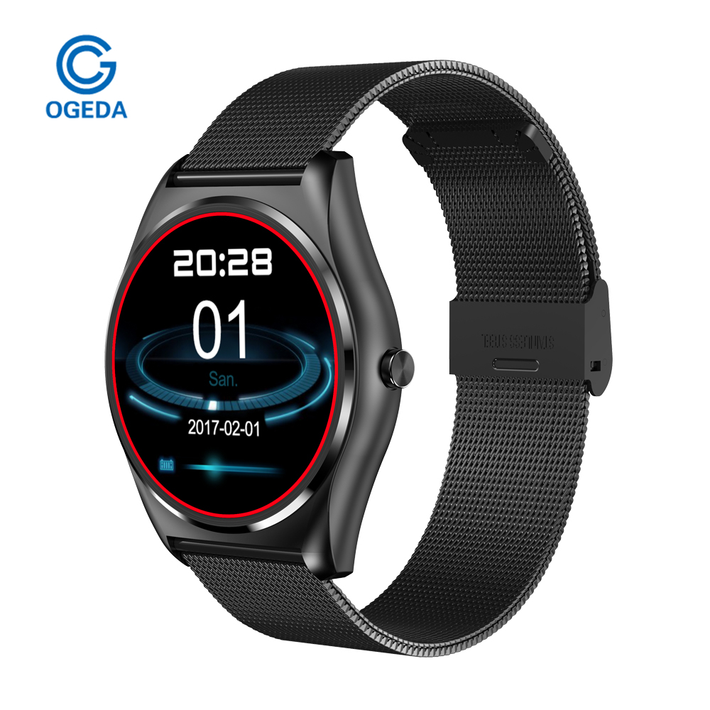 OGEDA Smart Watches N3 With Heart Rate Monitor Bluetooth Smart Watch Wireless Charging Support Call Reminder Fitness Smart Clock wireless service call bell system popular in restaurant ce passed 433 92mhz full equipment watch pager 1 watch 7 call button