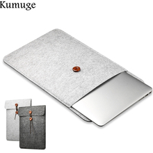 Soft Laptop Bag Cover 11.6 13.3 15.4 15.6 Laptop Sleeve for Macbook Air Pro Retina 11 13 15 Laptop Cover for Macbook Air 13 Case
