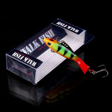 WALK FISH 1PCS 55mm 12.2g Fishing Lure Winter Ice Fishing Hard Bait Pesca Artificial Bait Soft Lead Swimbait Tackle