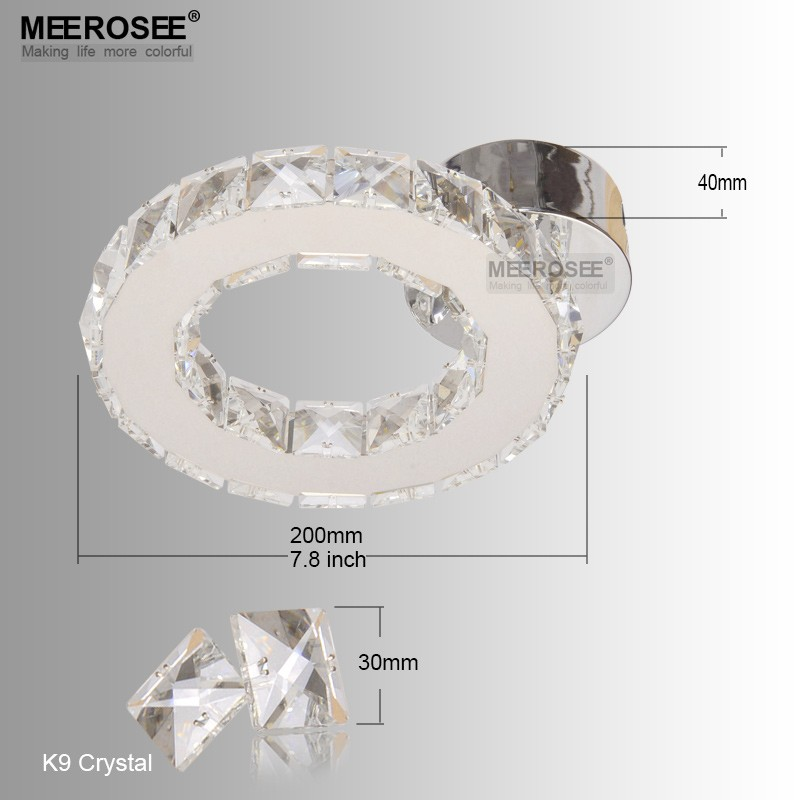 Chandeliers Lights & Lighting Luxurious Crystal Chandelier Good K9 30mm Size Article Crystal Hanging Light Fixture Circle Drop Lustre For Home Hotel Project Superior Materials