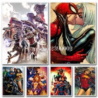 Marvel S The Avengers 3d Diy Diamond Painting Cross Stitch Set Square Rhinestone Full Diamond Embroidery