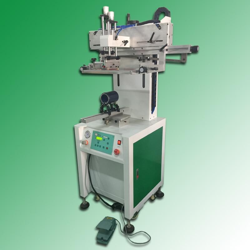 Silk Screen Printing Mug Printing Machine For Single Label
