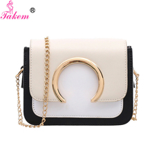 hot deal buy takem 2019 women pu leather shoulder bags casual tote bags crossbody bag high quality luxury brand shoulder bag bolsos hot sale