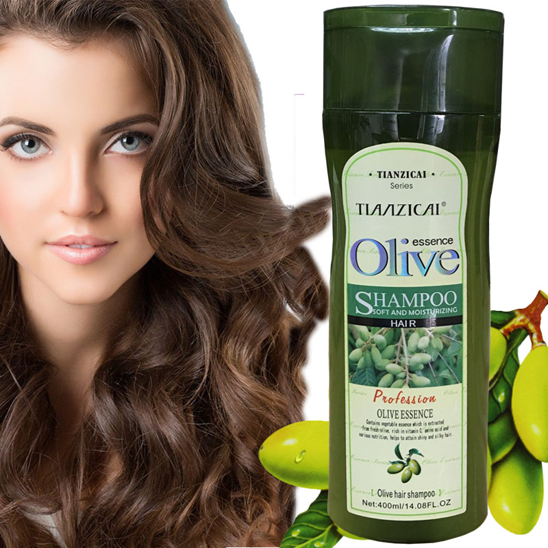 Galleria fotografica Olive Oil Shampoo Nourishing Damage Repaired Olive Oil & Potent Natural Ingredients for Hair Care Free Shipping