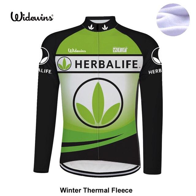 HERBALIFE HERBALIFE Vestuário de Equitação Da Bicicleta camisa de ciclismo  manga longa de inverno térmica Roupas ac3b1b83b6786