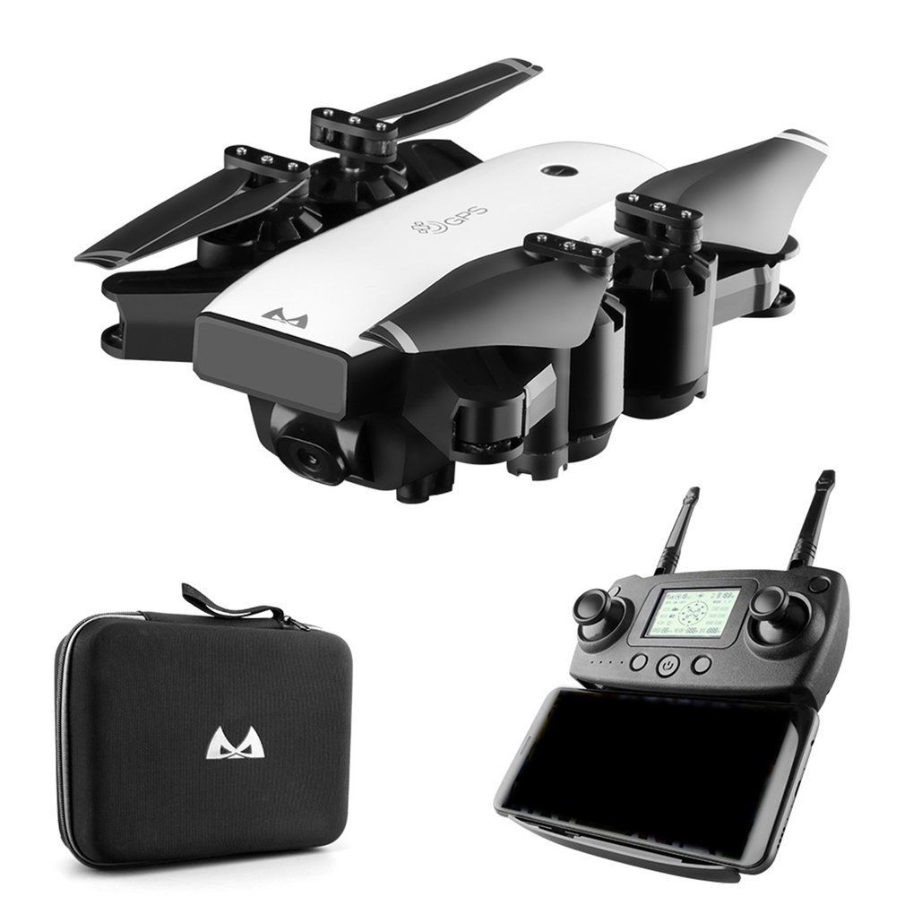 SMRC S20 5G GPS RC Drone Folding Quadcopter Four axis Aircraft With 1080P HD Camera Drone Aircraft Aerial Drone Fixed Height