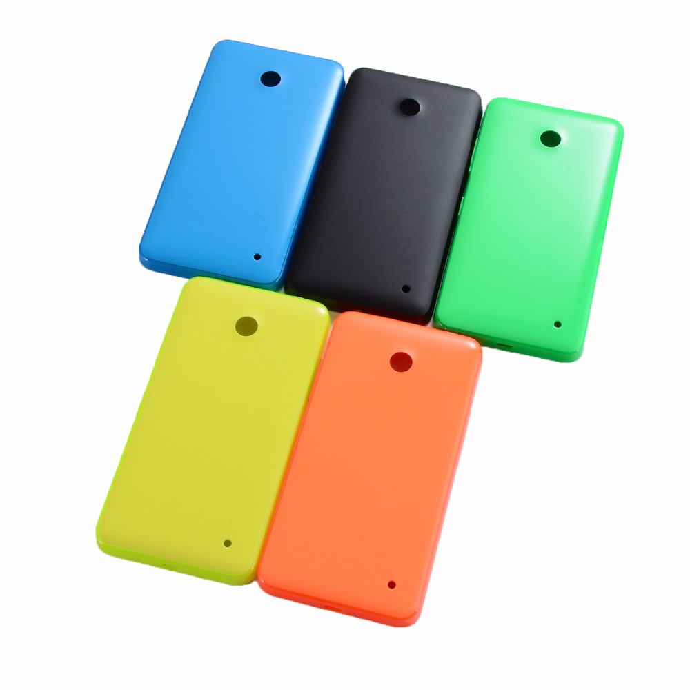 New 630 Housing Battery Door Cover For Nokia Lumia 630 N630 Battery Cover With Power Volume Buttons