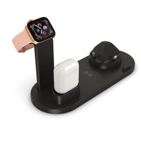 3 in 1 Charging Dock Qi Wireless Charger Holder 10W Quick Charger Stand for iWatch Series 4/3/2/1 Airpods For iPhone X XS XR