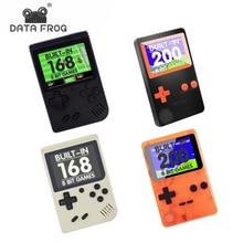 Veri Kurbağa Klasik Taşınabilir El Retro Mini video oyunu Konsolu Dahili 168/200 Retro 8 Bit Oyunları AV Out Oyunu Hediye çocukl...