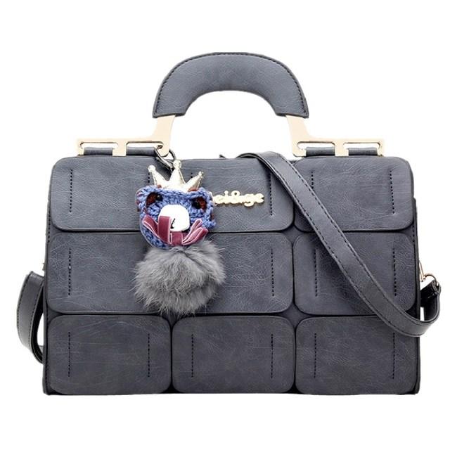 Tang Wolf Seam Women's Handbag