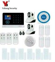 Yobang Security Smart Android+IOS APP Hause Alarmas 433Mhz Wireless Home Security Alarmsystem IP Camera Sistema De Alarma GSM