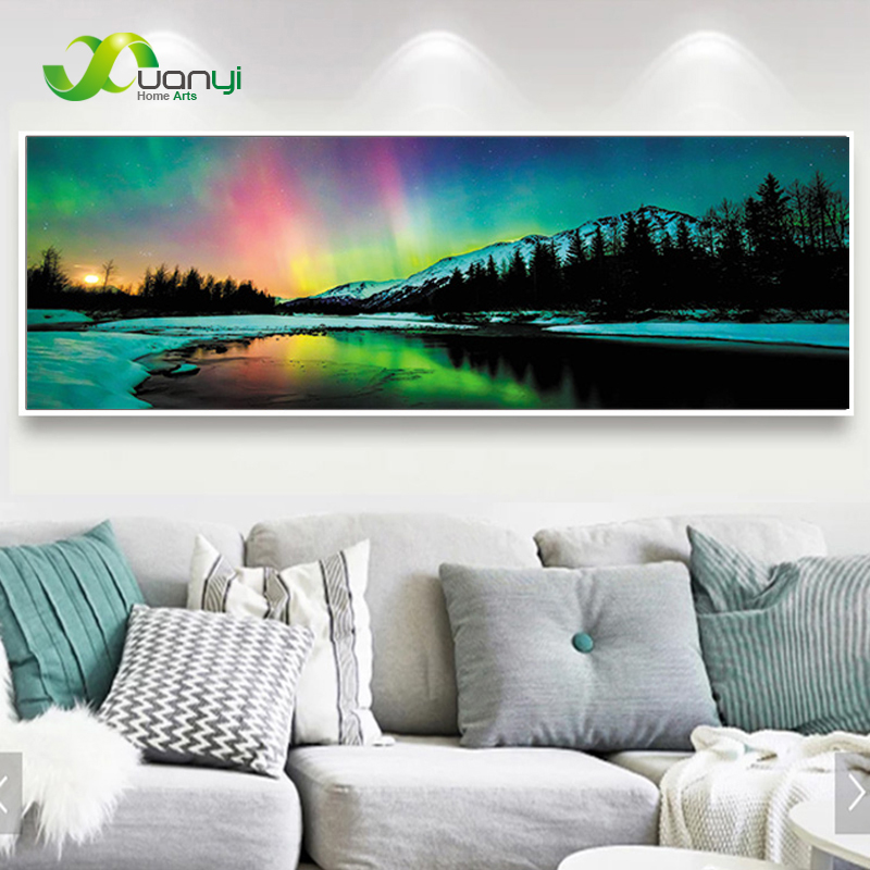 Nature Landscape Poster Canvas Wall Art Painting Simple Peacefull Pictures Natural Unframed