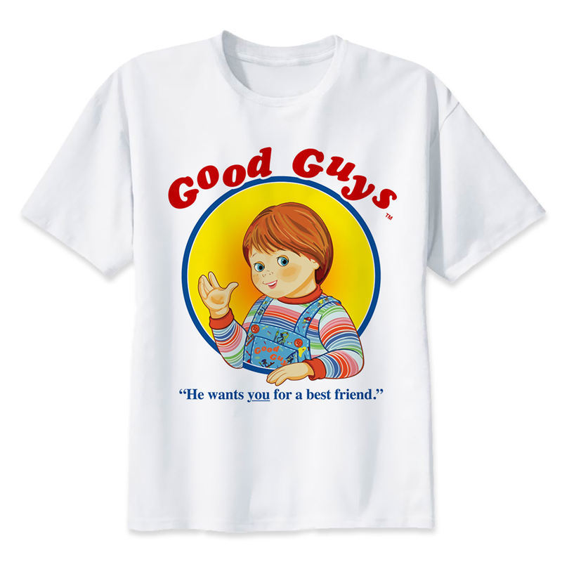 Chucky T Shirt Men Summer Fashion High Quality T Shirt