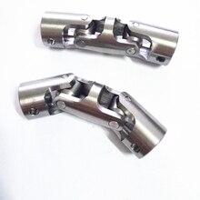 304 нержавеющая сталь три секции универсальный шарнир, универсальный шарнир, металлический универсальный шарнир, три шарнира