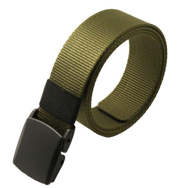 Automatic Buckle Nylon Belt Male Army Tactical Belt Jeans Mens Luxury Waist Designer Belts Men High Quality Strap Ceinture Femme