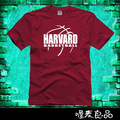HARVARD TEE NEW 2017 JEREMY LIN COLLEGE WEAR 100%COTTON HIGH QUALITY SHORT SLEEVE CASUAL S AUTUMN SUMMER