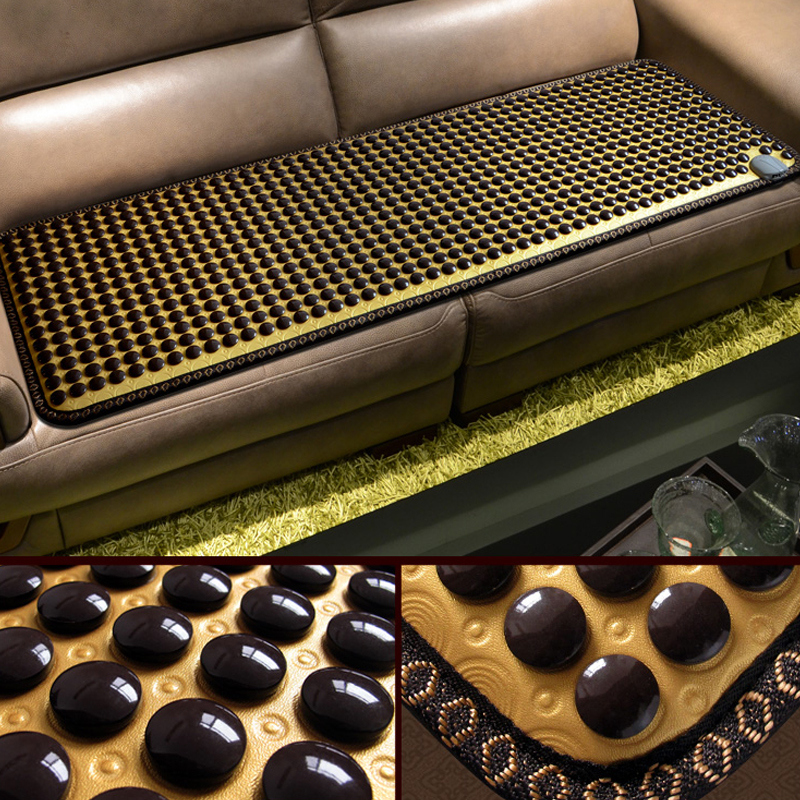 2018 New Product! Korea Heating Jade Mattress Tourmaline Mat Jade Massager Thermal Heating Jade Massage Cushion 50*150CM jade mat electric heating massage mattress with therapy massage function for beauty center use 50 150cm