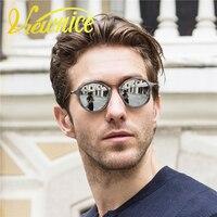 ec4f9995b13458 Viewnice femmes soleil lunettes oculos feminino hommes Vintage ronde en  bois Lunettes Rétro lunettes De soleil